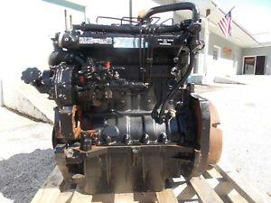 Tractor 4 Cylinder 63 Hp Diesel Engine Massey Ferguson Warranty Replacement