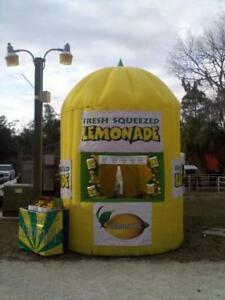 13ft tall Commercial Inflatable Lemonade Concession Stand Event Drink Tent Booth