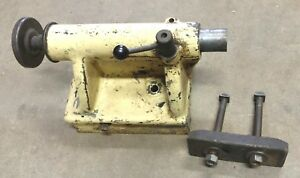 Cincinnati Lathe Tail Stock 15 Or 16 Swing Mt3 Spindle Hole Machine Parts
