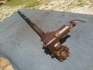 40 Chevy Pu Truck Steering Column Hot Rat Rod 36 37 38 39 41 46 Gmc