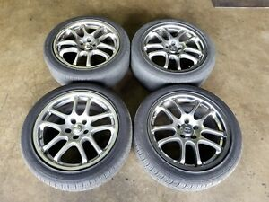 Used 2005 2006 Infiniti G35 Rims Wheels Tires 5x114 3 18inch 18x7 5jj Offset 45