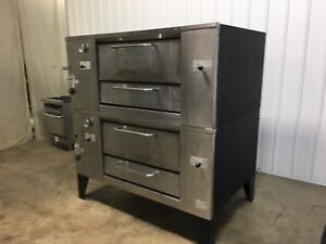 Bakers Pride Stone Deck Pizza Oven Nat Gas D125