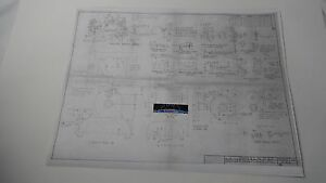 Nanzy 1 2 Size Plans engine Blueprints hit And Miss Model miniature Model