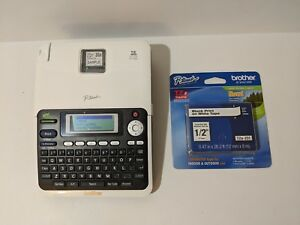 Brother P touch Pt 2030 Label Thermal Printer With Extra Tze 231 Tape