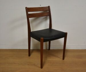 Mid Century Modern Teak Desk Chair