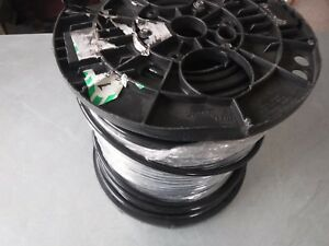 New 500 Alan Wire Awg 4 Stranded Black Wire Thhn 600v 90c Usa