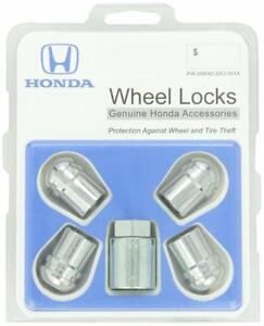 Genuine Honda Odyssey Pilot Wheel Lock Set Kit Oem 08w42shj101a