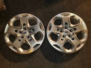 Pair Of 2 New 2010 2011 2012 Fusion 17 Wheel Covers Hubcaps 7052