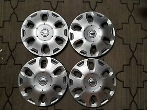 1 Set Of 4 New 2010 11 12 2013 Transit Connect 15 Hubcaps Wheel Covers 7051