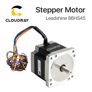Leadshine Stepper Motor 86hs45 2 Phase Hybrid Step For Nema34 4 2a 4 5 N m