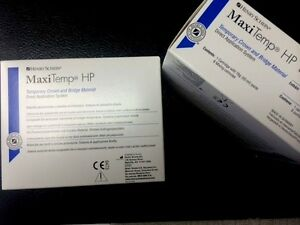 Dental H s Maxitemp Hp Temp crown Bridge Equivalent To Luxatemp A3 Two Sets