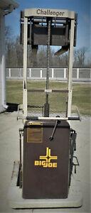 Big Joe Challenger Electric Pallet Jack Xt a6 1000lb Made In America Pristine