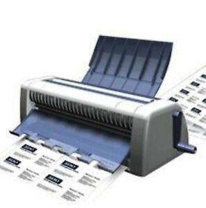 New Cardmate Business Card Cutter 60 Cards 60 Seconds