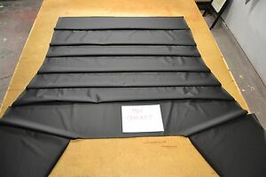 1968 68 Dodge Coronet Black Perforated Headliner Usa Made Top Quality