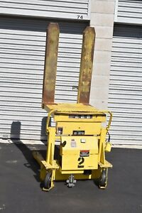 Southworth Portable Container Tilter Ptu 4 Pallet Jack