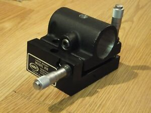 Newport Model 810 Cylindrical Laser Mount With 2 Axis Adjustment