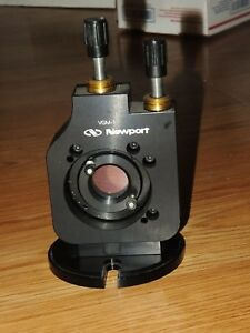 Newport Vgm 1ajs Vertical Drive Gimbal Optic Kinematic Mount For 1 Inch Optics
