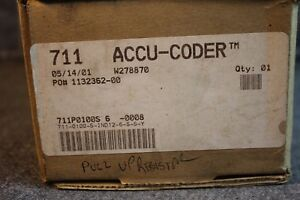 Accu coder Power mation Division Shaft Encoder 711 2 5 28 Vdc