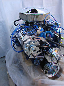 351w Ford Turn Key Crate High Performance Balanced Engine Mustang Bronco Pick Up