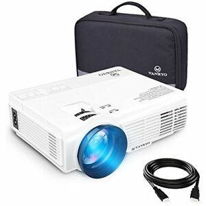 Leisure 3 Led Mini Portable Projector With Carrying Bag 1800 Lumens Video 170