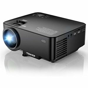 Upgrade 10 Lumens 4 0 Lcd Mini Projector Portable Home Theater 170 Display