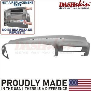 Dash Cover Cap Overlay Skin 97 99 Tahoe Yukon Suburban Escalade Medium Grey