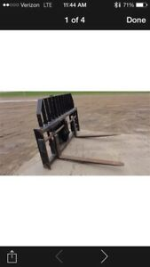 Cat Wheel Loader Tilt Forks