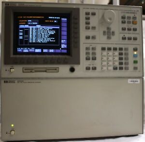 Hp agilent 4156a 41501a With Dual Pgu Semiconductor Parameter Analyzer Exander