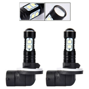 2x Durable 881 862 884 885 100w 6500k Cool White Led Fog Driving Light Lamp Bulb