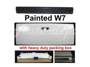 Painted W7 Bright White Tailgate Access Panel For Dodge Ram Pickup 2002 2008