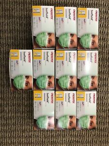 Lot Of 10 Boxes Of 50 Crosstex Isofluid Dental Medical Face Mask