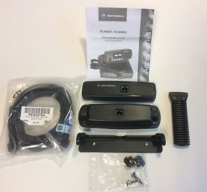 Motorola Cdm Remote Head Kit C w Cable Rln4802 Rkn4078a cdm1250 Cdm1550