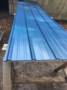50 Sheets3x25 brand New Metal Roofing Panels Blue Color