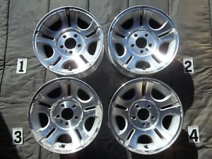 Ford Ranger 15 Wheels Alloy Stock Oem Factory Rims Bad Cosmetic 3l54 1007 Aa