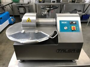 Talsa K15m Stainless Steel Table top Bowl Chopper