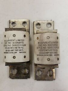 Westinghouse 800nbp20 Current Limiter For Use With Nb Tri pac 800a 600v