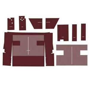 Cab Foam Kit Less Headliner Maroon International 1586 1486 886 1086 986