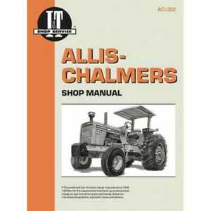 I t Shop Manual Collection Ac 202 Allis Chalmers 185 185 D10 190 190 180 180