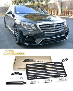 Eos For 15 up Benz Amg S63 S65 Amg Sedan Full Size Tow Hook License Plate Holder