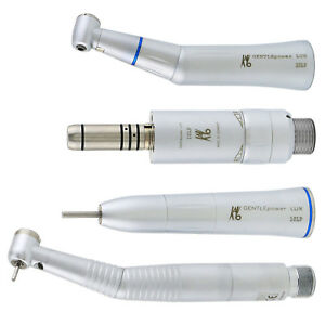 Dental Inner Water Contra Angle Low Speed Led High Handpiece Kit Fit Kavo