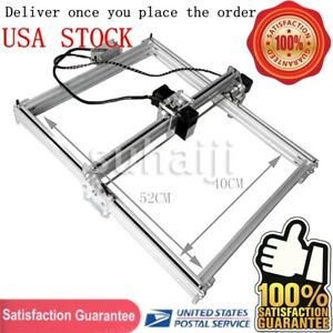 50 40cm Mini Diy Laser Engraving Machine 2500mw Lasergravur Cutter Printer Usa