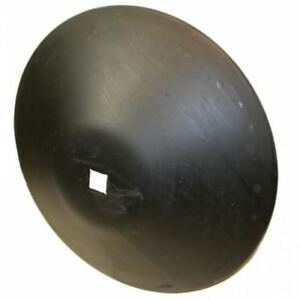 Disc Blade 22 Smooth Edge 3 16 Thickness 1 1 8 Square Axle Deep Cone