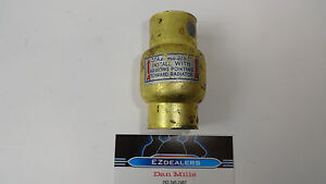 Vintage Inline Thermostat Water Heater Control Valve 1930 S 1950 S Classic Car