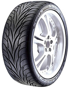 4 New Tire S 205 40r17 Federal Ss 595 80v 240aaa 205 40 17 2054017