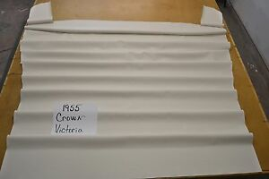 1955 55 Ford Fairlane Crown Victoria White Headliner Usa Made Top Quality