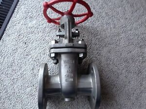 Gate Valve 2 150 Rf Flanged Warren 1156 316 Stainless Steel