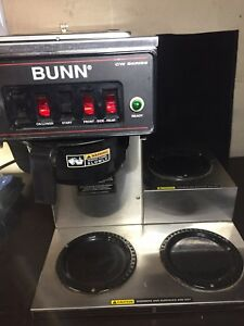 Bunn Cw Series Coffee Maker Model Cwtf15 3l Sf a