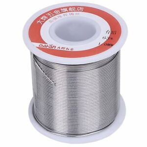 Dahan Tin Lead Rosin Core Solder Wire 63 37 1lb Sn63 Pb37 With Flux 2 For Diam