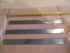 Set 3 1 X 12 1 8 X 1 8 Hss Jointer Or Planer Knives Blades