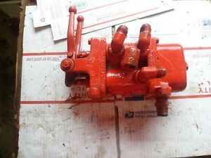Two Control Valve Assembly Controls For Front End Loader